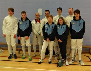 Kent Mixed Team Epee